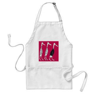 Dressed ducks restaurant adult apron