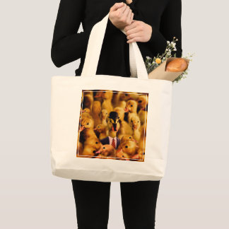 Dressed For Success Duck Large Tote Bag
