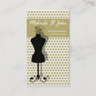 Fashion designer mannequin business cards zazzle uk dressmaker mannequin sewing fashion designer business card colourmoves