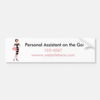Dressy Dress Bumper Sticker