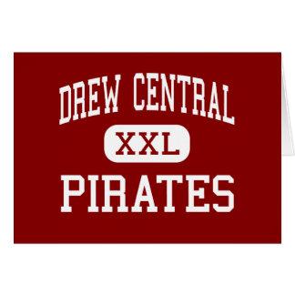 Drew Central - Pirates - High - Monticello Card