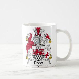Drew Family Crest Coffee Mug