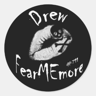 Drew FearMEmore Sticker