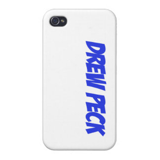 Drew Peck Case Blue Cases For iPhone 4
