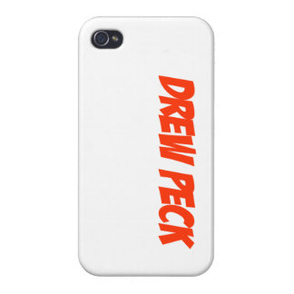 Drew Peck case Red iPhone 4 Covers