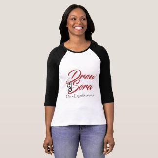 Drew Sera women's baseball raglan shirt