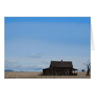 Drew Sullivan - Abandoned House Greeting Card