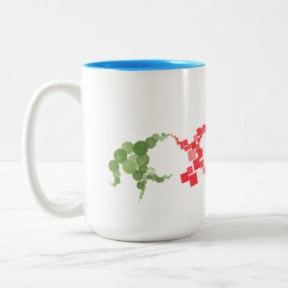 Drew's Design Mug - Colored Geometrics