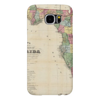 Drew's New Map Of The State Of Florida Samsung Galaxy S6 Cases