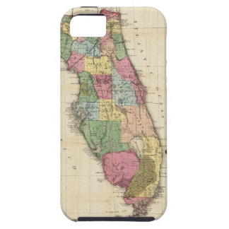 Drew's New Map Of The State Of Florida Tough iPhone 5 Case
