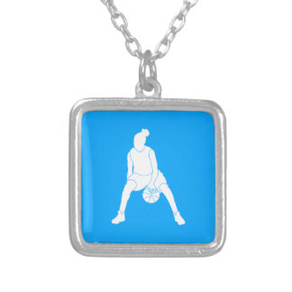 Dribble Necklace  Blue