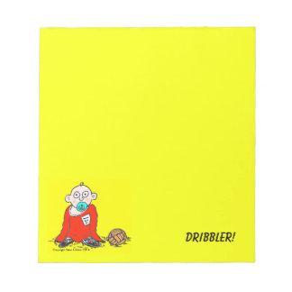 Dribbler! Notepad