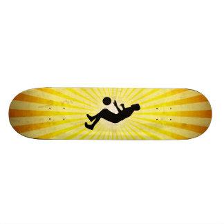 Dribbling Basketball Skate Deck