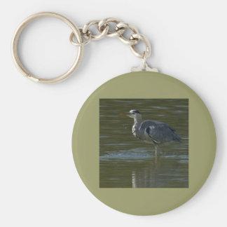 Dribbling Heron Keychains