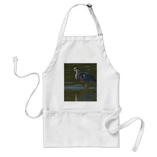 Dribbling Heron Standard Apron