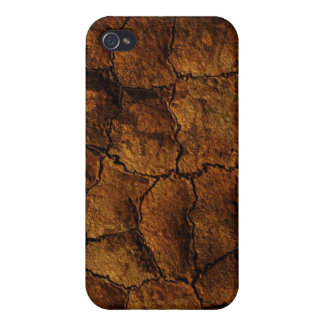 Dried earth texture look iphone4 case