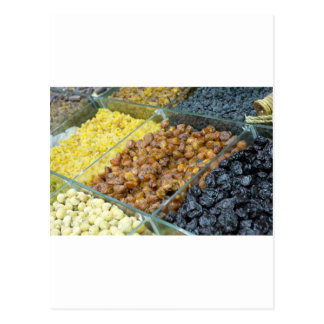 Dried fruit and nuts postcard