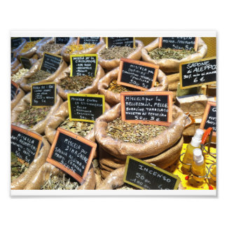 Dried Herbs and Spices Photo Print