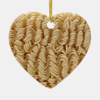 Dried ramen noodles christmas ornament