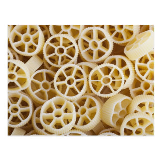 Dried Rotelle Pasta Greeting Postcard