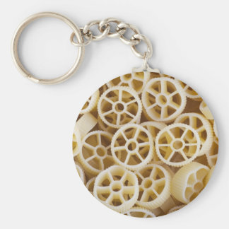 Dried Rotelle Pasta Keychain
