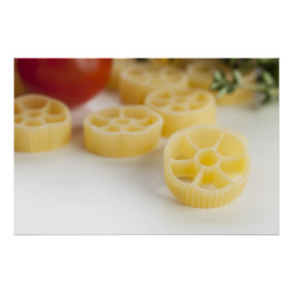 Dried Rotelle Pasta Print