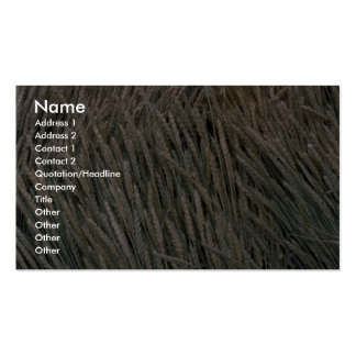 Dried sheaves of grain business card