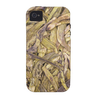 Dried tea leaves of Chinese green tea Case-Mate iPhone 4 Case