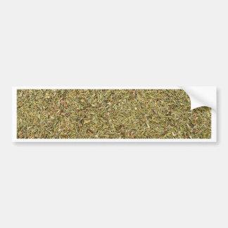 dried thyme texture bumper sticker