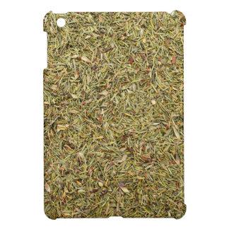 dried thyme texture iPad mini case