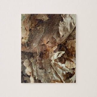 Dried tobacco leaves jigsaw puzzle