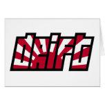 Drift Drifting JDM Japan Racing Card
