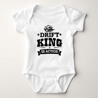Drift King In Action Baby Bodysuit