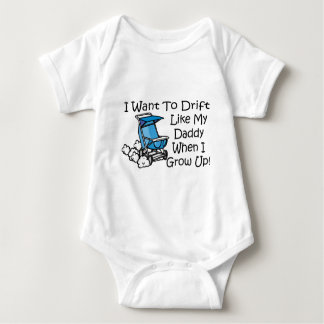 drift like my dad baby bodysuit