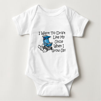 drift like my uncle baby bodysuit