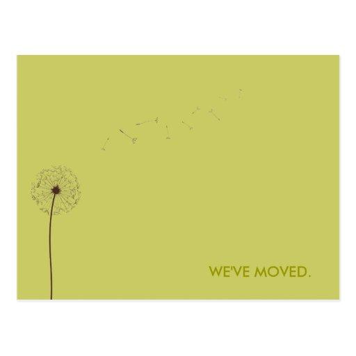 drift:  moving announcement postcards
