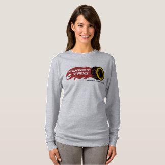 Drift Taxi Ladies Long Sleeve T-Shirt