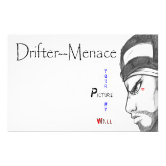 Drifter Menace Your Picture My Wall Flyers