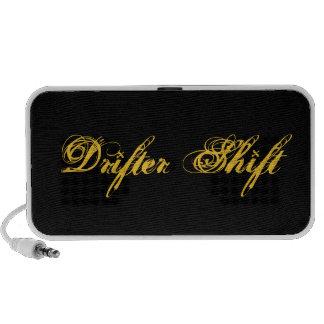Drifter Shift logo speaker