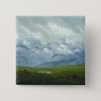 Drifting Clouds 15 Cm Square Badge