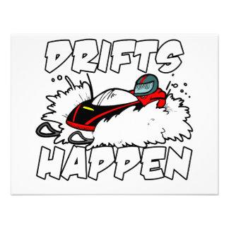 Drifts Happen Invitations