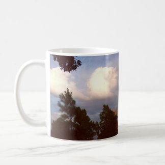 drifts in the clouds coffee mug