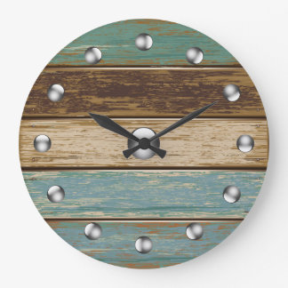 Driftwood 3 Wall Clock