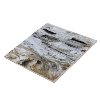 Driftwood 4 large square tile