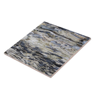 Driftwood 7 large square tile