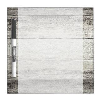 Driftwood Background Dry Erase Board