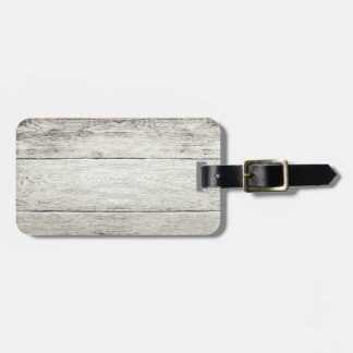 Driftwood Background Luggage Tag
