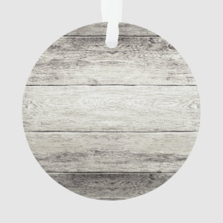 Driftwood Background Ornament