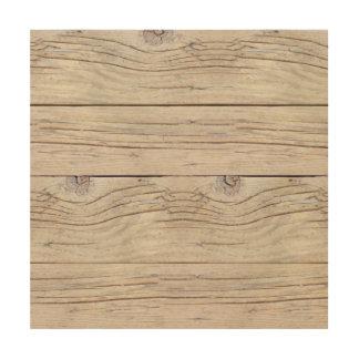 Driftwood Background Texture Wood Print