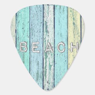 Driftwood Beach Guitar Pick